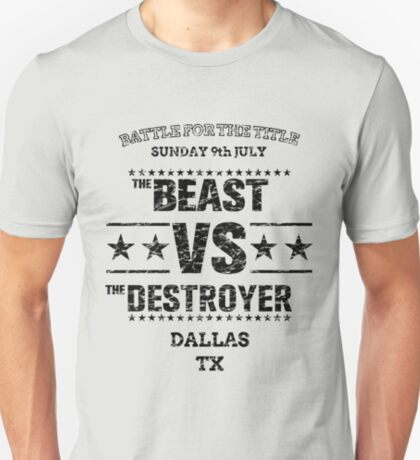 Beast VS Destroyer T-Shirt