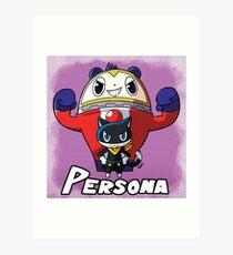 Mascot Characters Art Print