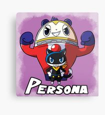 Mascot Characters Metal Print