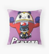 Mascot Characters Throw Pillow