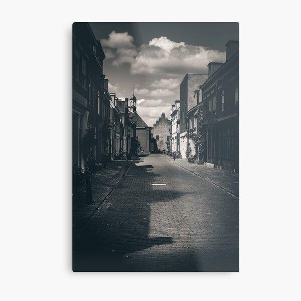 Village road (Culemborg) Metal Print