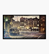 Plzen Night Photographic Print