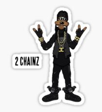 2 CHAINZ Sticker