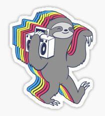 Slow Jams (Boombox Sloth)  Sticker