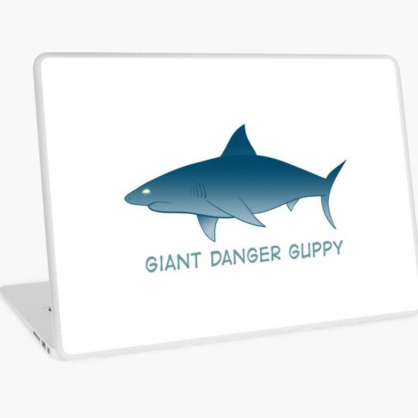 Giant Danger Guppy (Shark) Laptop Skin