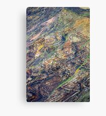 Rock Patterns Canvas Print