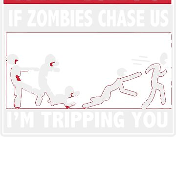 Warning Zombies Chase Logo by billy90
