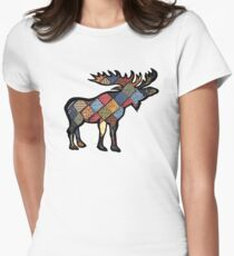 Northern Quilt Womens Fitted T-Shirt