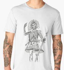 Warrior Battle Armour Skull Time Men's Premium T-Shirt