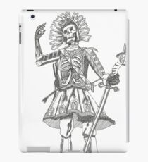 Warrior Battle Armour Skull Time iPad Case/Skin