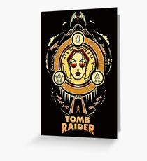 Tomb Raider - The Wheel of Adventure Greeting Card