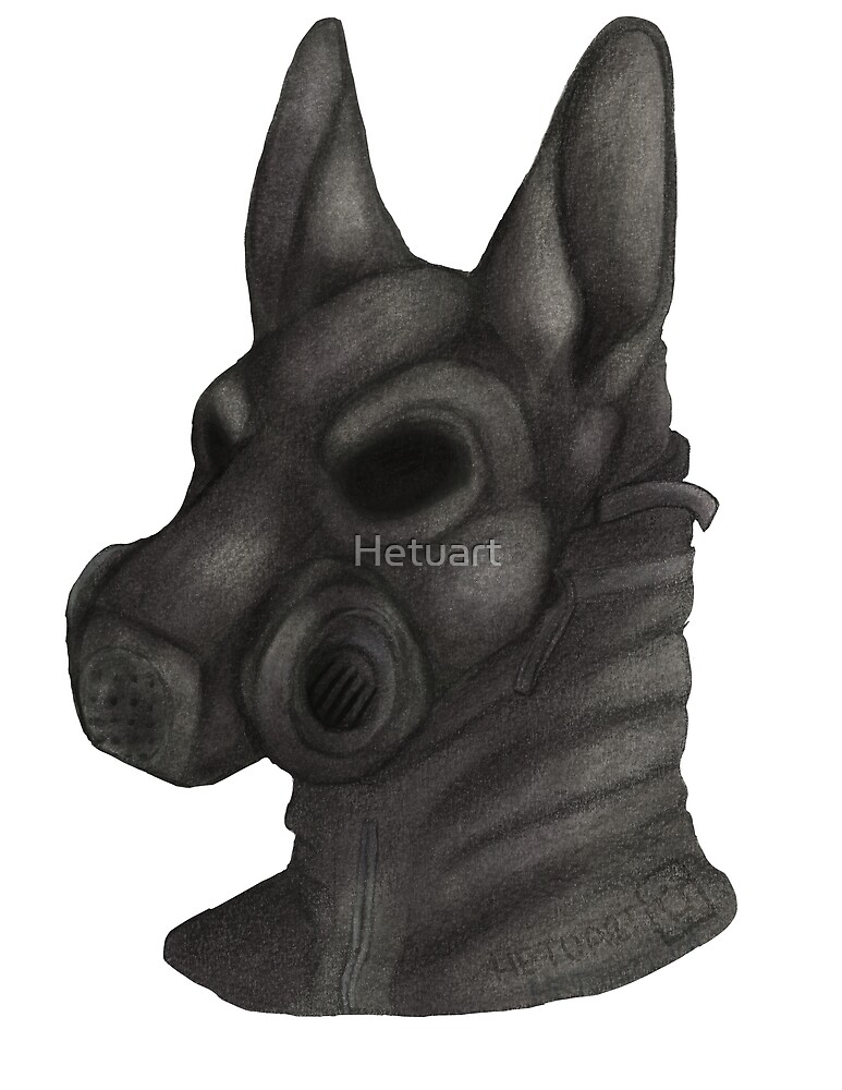 Anthro Gas Mask by Hetuart