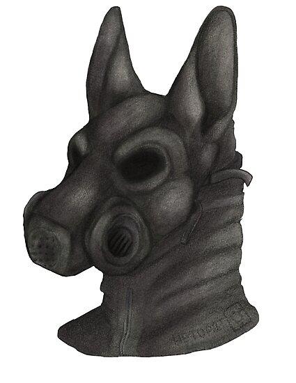 Anthro Gas Mask by Hetuart