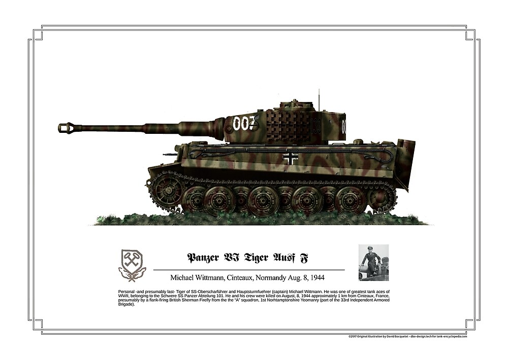 Quot Tiger Ausf J Michael Wittman Quot By Thecollectioner