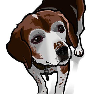 Clancy (beagle) by binarygod