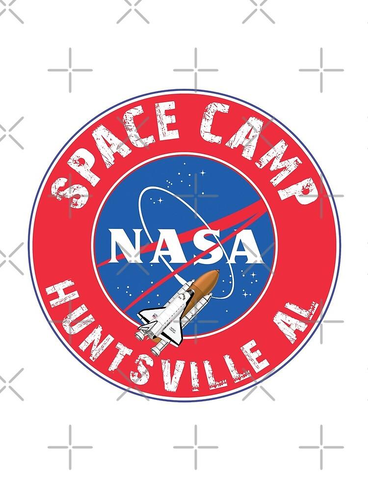 Campo espacial de la NASA Huntsville Alabama Space Shuttle Rocket Astronaut de MyHandmadeSigns