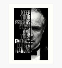 Marlon Brando- The Godfather Art Print