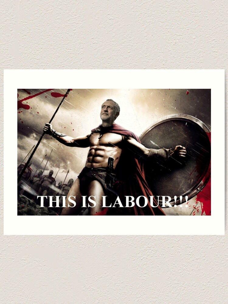 Election Labour Poster Keep Calm Vote Jeremy Corbyn All Sizes 2 Wall Art