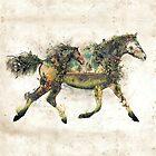 «El surrealismo del caballo salvaje» de barrettbiggers