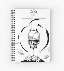 Autumn Sword Spiral Notebook