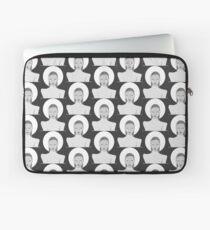 Black and white Fashion Laptop Sleeve