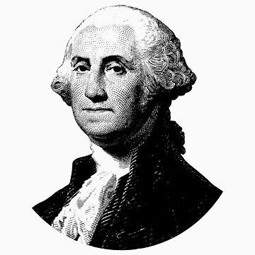 President George Washington Graphic  by warishellstore