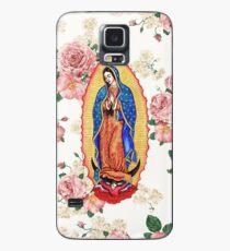 Jungfrau von Guadalupe Hülle & Klebefolie für Samsung Galaxy