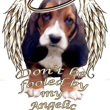 Angelic beagle puppy by IowaArtist