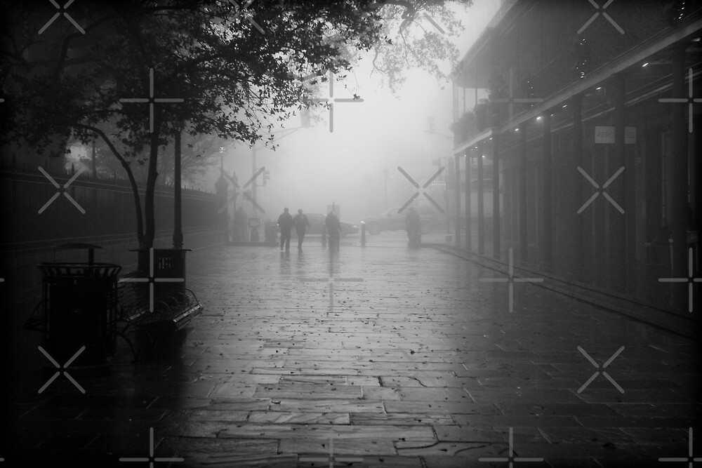 New Orleans in B&W by Victoria Avvacumova