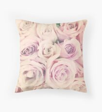 Rose Blush Throw Pillow