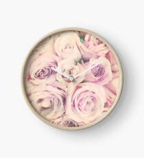 Rose Blush Clock