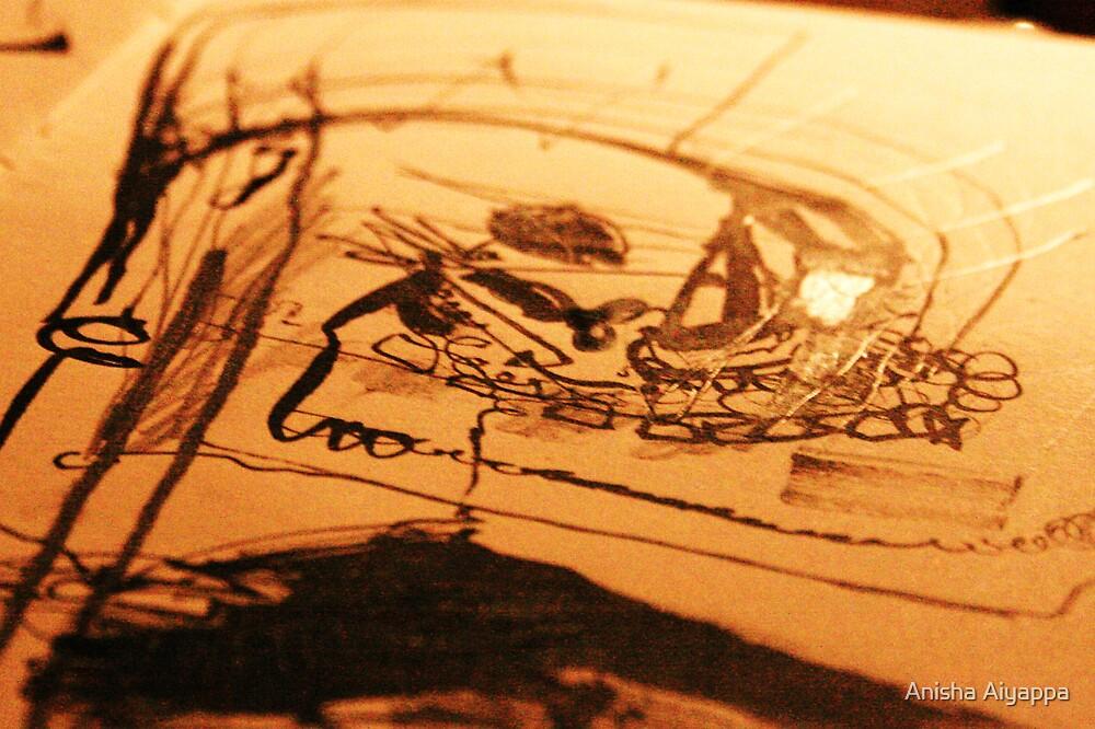 manscrawl in light by Anisha Aiyappa