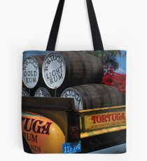 Rum Truck Tote Bag
