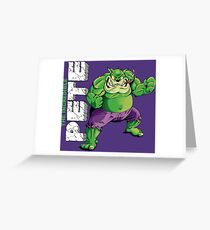 The Incredible Pete Greeting Card