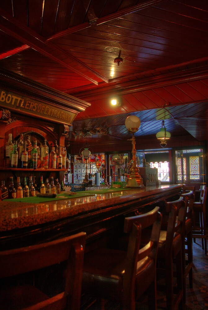 Tynans Bridge House Bar Interior  - Old Pub in Kilkenny City (3) by Mark O'Toole