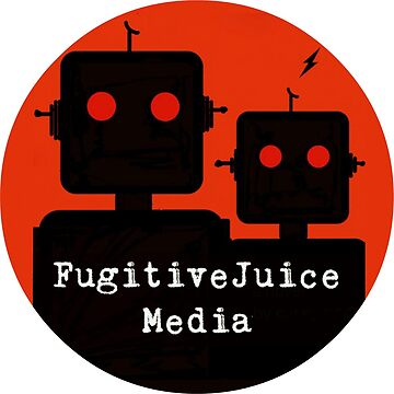 Robot Logo - FugitiveJuice Media by caseypope