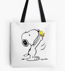 Snoopy love and friends Tote Bag