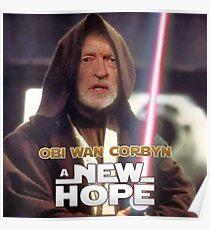 Obi Wan Corbyn  Poster