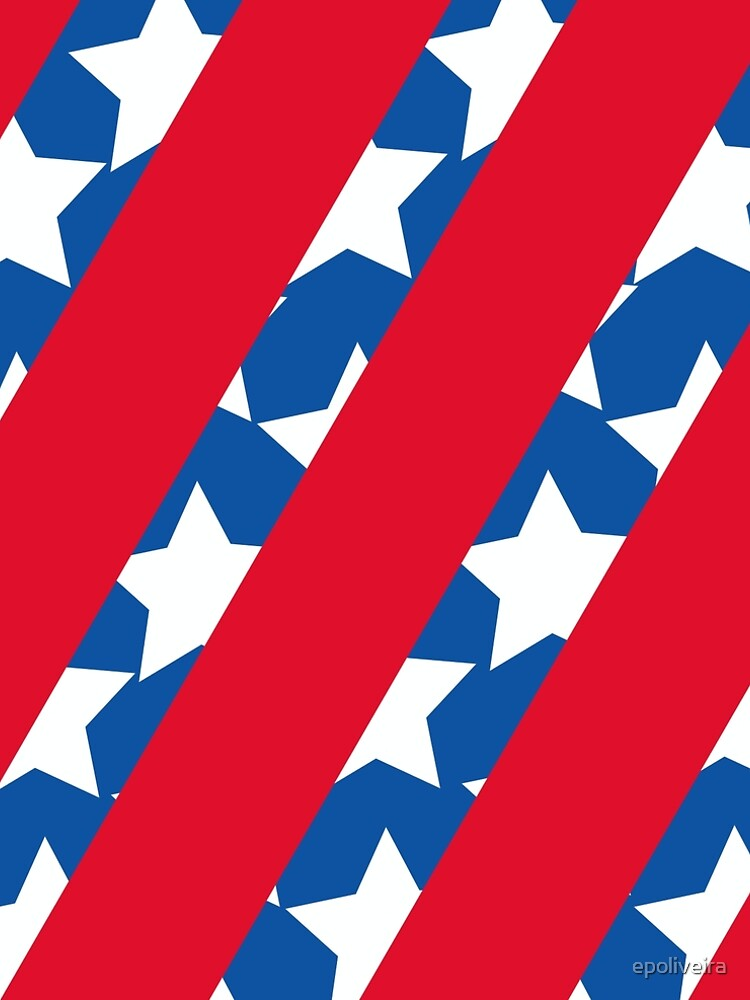Red Stripes with Blue and Stars by epoliveira