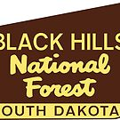Black Hills National Forest South Dakota Hiking Camping Climbing Park by MyHandmadeSigns