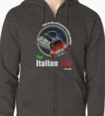 Put Your Foot Down... Zipped Hoodie