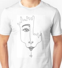 Melt With You- one line drawing T-Shirt