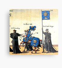Galice representation in Charles V illustration Metal Print