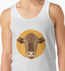 Geh Kühe !! Geometrische Kuh Tank Top