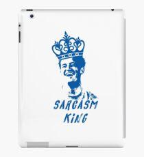 Sarcasm King iPad Case/Skin