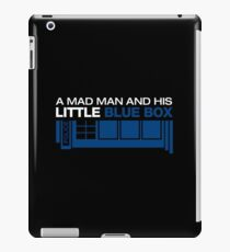 a Mad Man and his Little Blue Box iPad Case/Skin