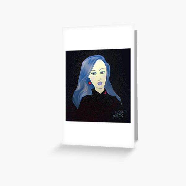 Aquarian Melody Greeting Card