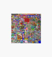 Reddit r/Place 12K Official r/TheFinalClean Cleaned Version – FINAL Revision (With Void) Art Board