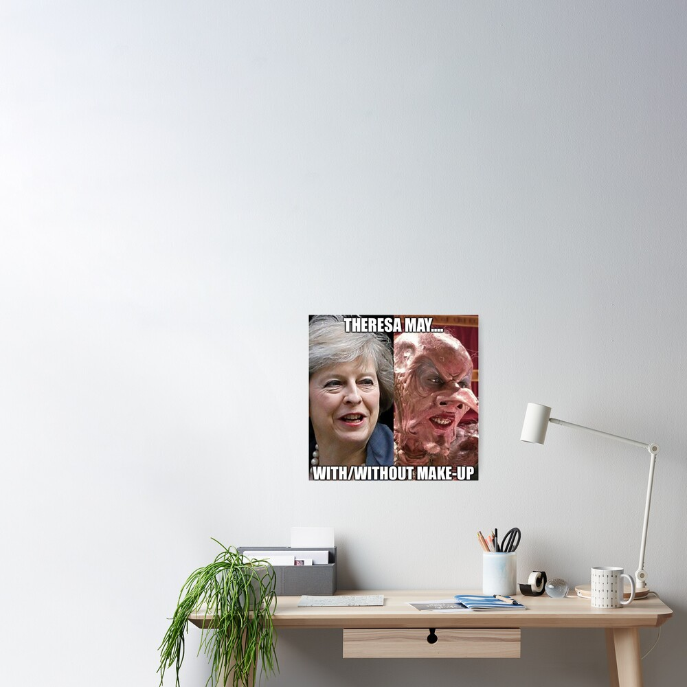 Theresa May In Witches Poster