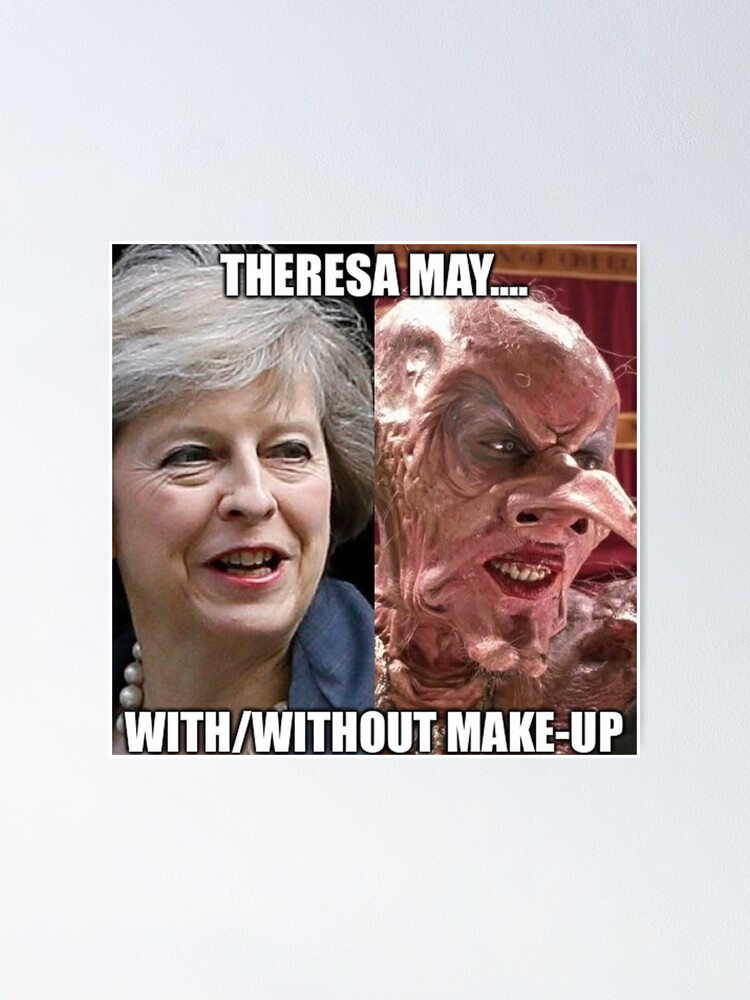 Alternate view of Theresa May In Witches Poster